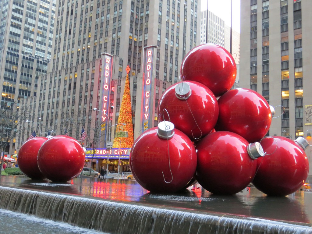 Radio City Hall à Noël