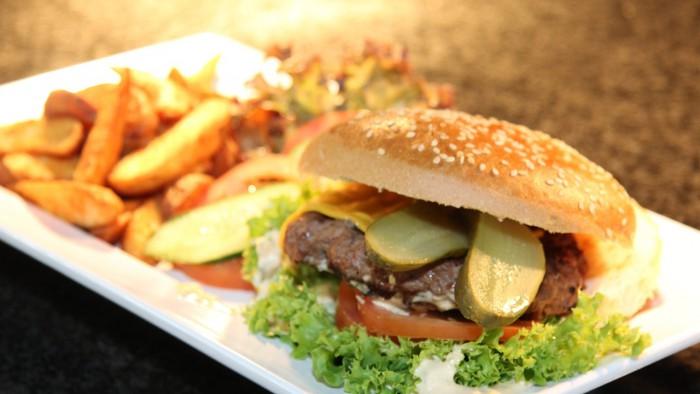 Burger in New York City