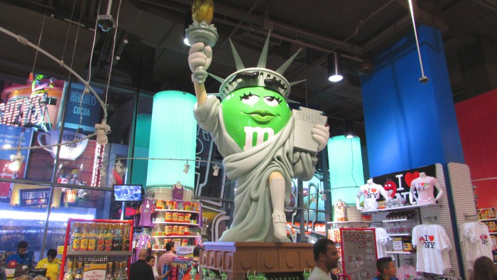 Statue of Liberty M&M's