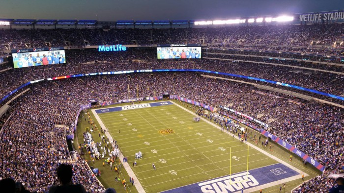 match football américain New York Giants