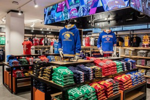 The new NBA Store opened its doors in New York