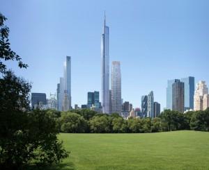 Le projet vu de Central Park. (Photo DR)