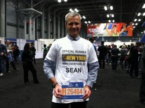 Sean, notre premier coureur officiel !