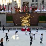 The Rink at Rockefeller Center Opened for Its 80th Anniversary Season
