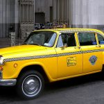 Visit New York City aboard a vintage taxi