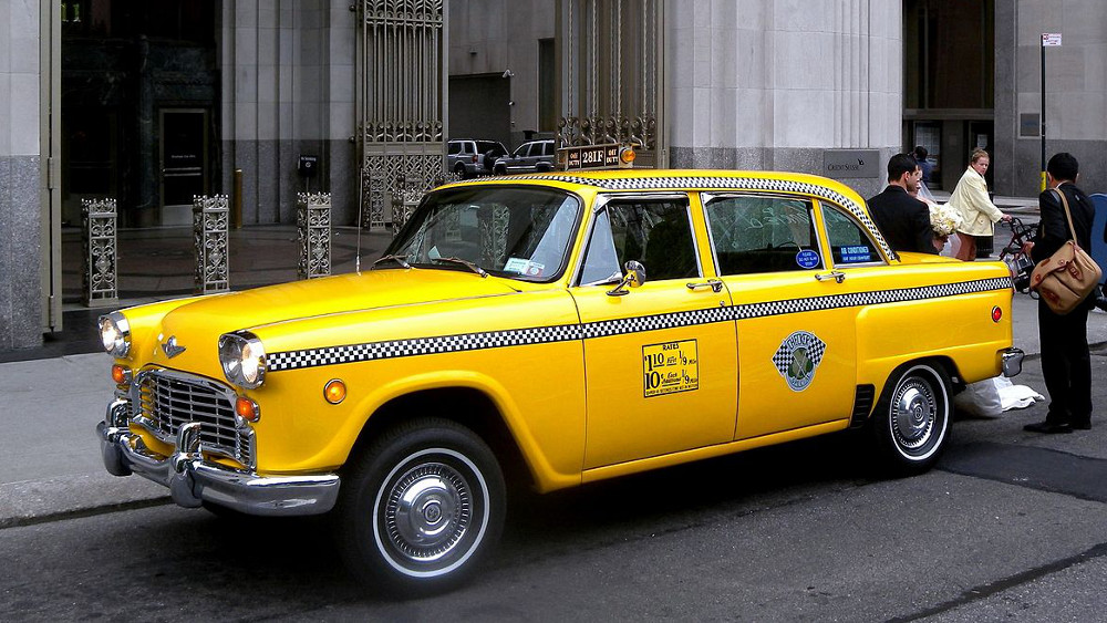 visit new york city aboard a vintage taxi new. Black Bedroom Furniture Sets. Home Design Ideas
