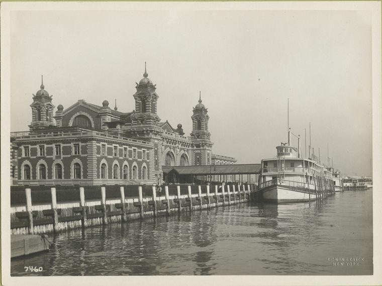 Ellis Island in 1902