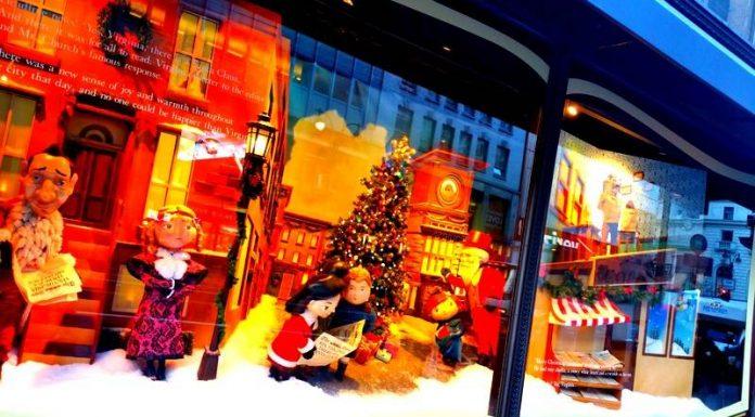 vitrines Noël New York