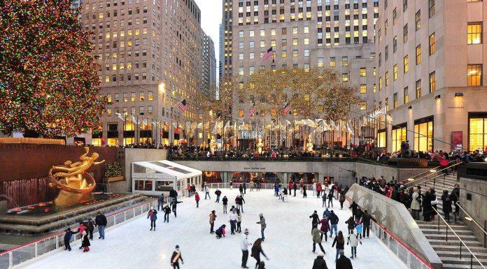 The Rockefeller Ice Rink
